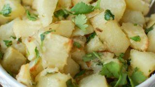 Lemon Cilantro Roasted Potatoes
