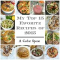 My Top 15 Favorite Recipes in 2015 - yum