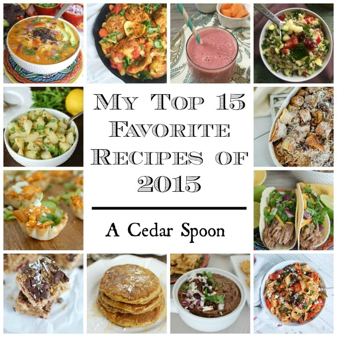 My Top 15 Favorite Recipes of 2015 - yum