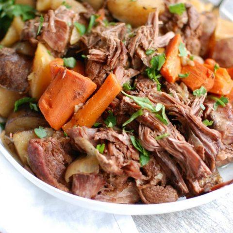 Slow Cooker Pot Roast - heavenly