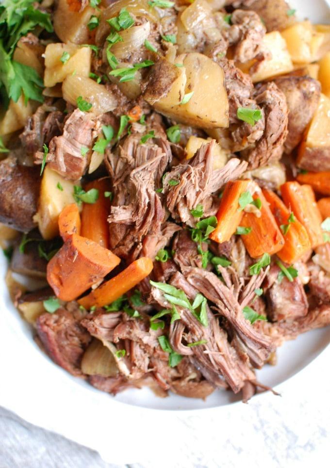 Slow Cooker Pot Roast - so good!