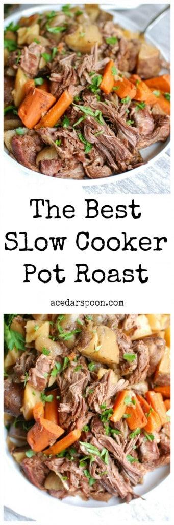 Slow Cooker Pot Roast- tender