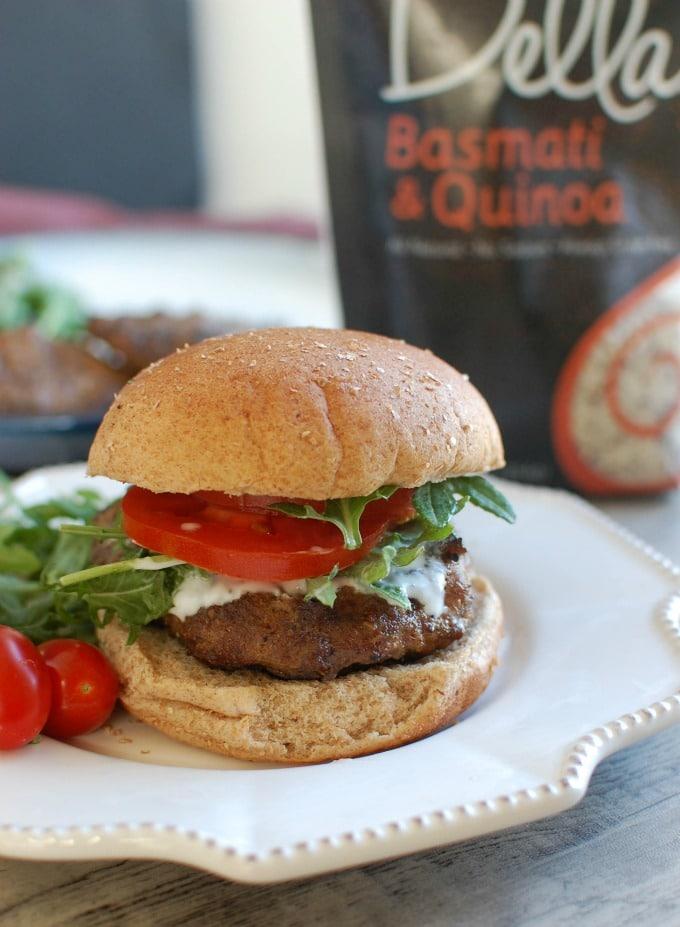 Mediterranean Lamb Burger Recipe — Dishmaps
