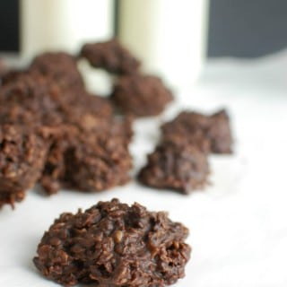 Chocolate Peanut Butter Coconut No Bake Cookies - so good
