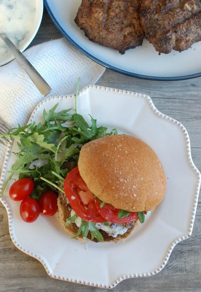 Mediterranean Lamb Quinoa Burgers - the best