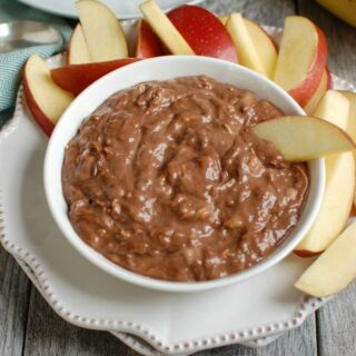 5 Ingredient Chocolate Banana Dip