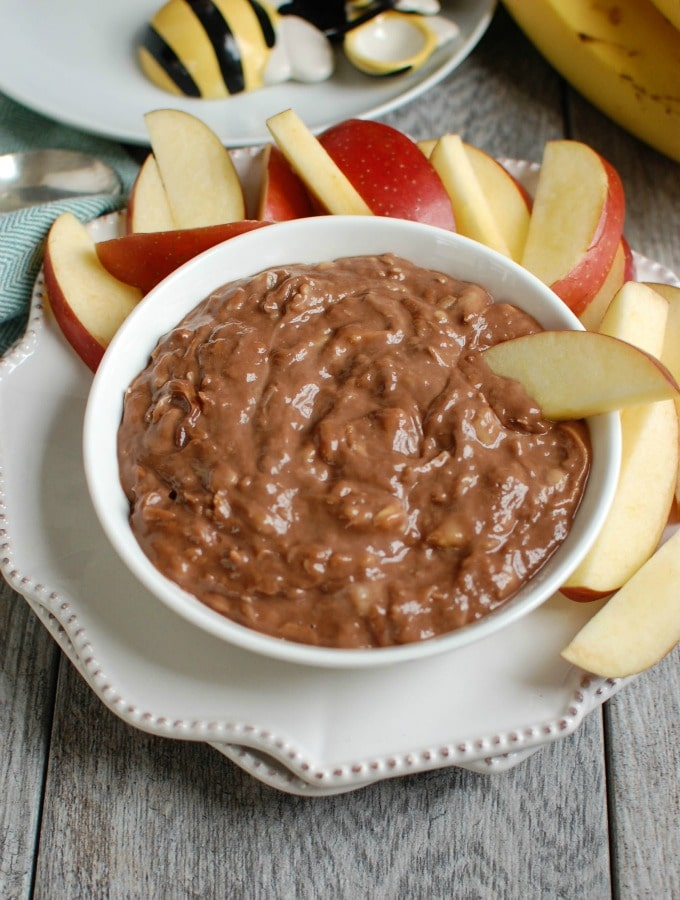 Chocolate Banana Dip - snacking made simple