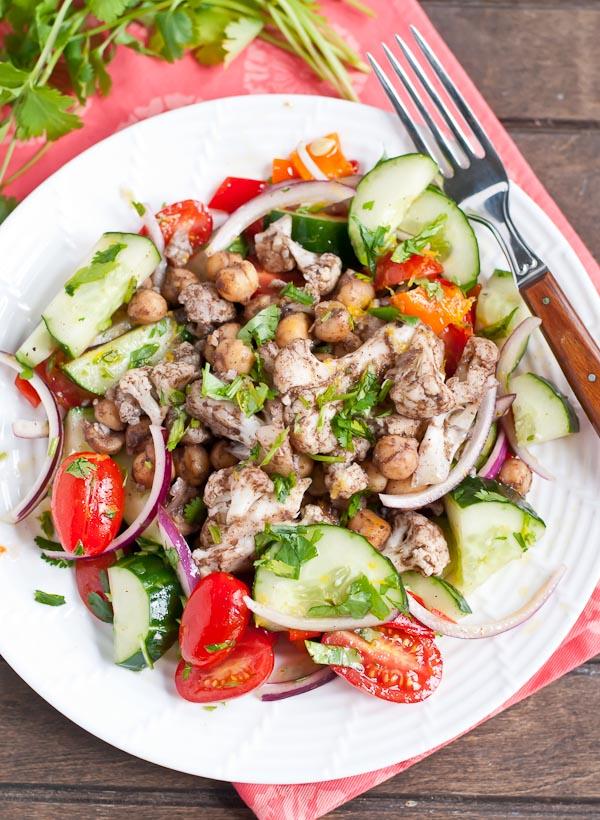 Cauliflower-chickpea-tomato-cucumber-salad-3
