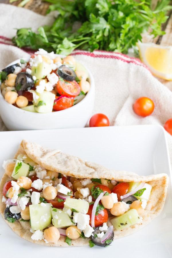 Greek-Chickpea-Salad