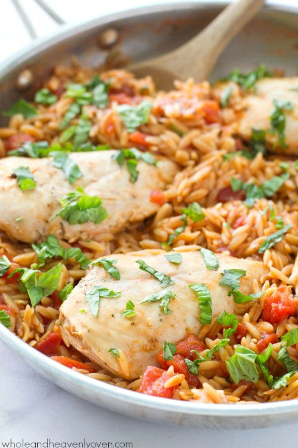 One-Pot-Italian-Chicken-and-Orzo