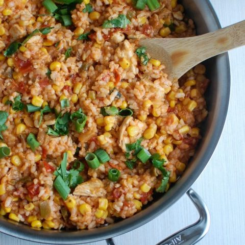 Southwestern Chicken and Rice - so good