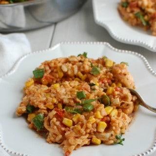 Southwestern Chicken and Rice - dinner
