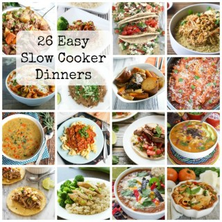26 Easy Slow Cooker Dinners