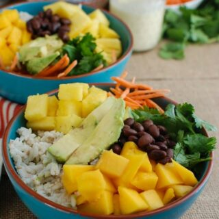 Tropical Coconut Rice Bowl