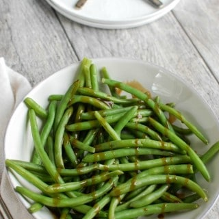 Honey Balsamic Green Beans - side dish