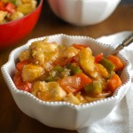 Lighter Sweet and Sour Chicken - dinner