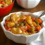 Lighter Sweet and Sour Chicken - dinner