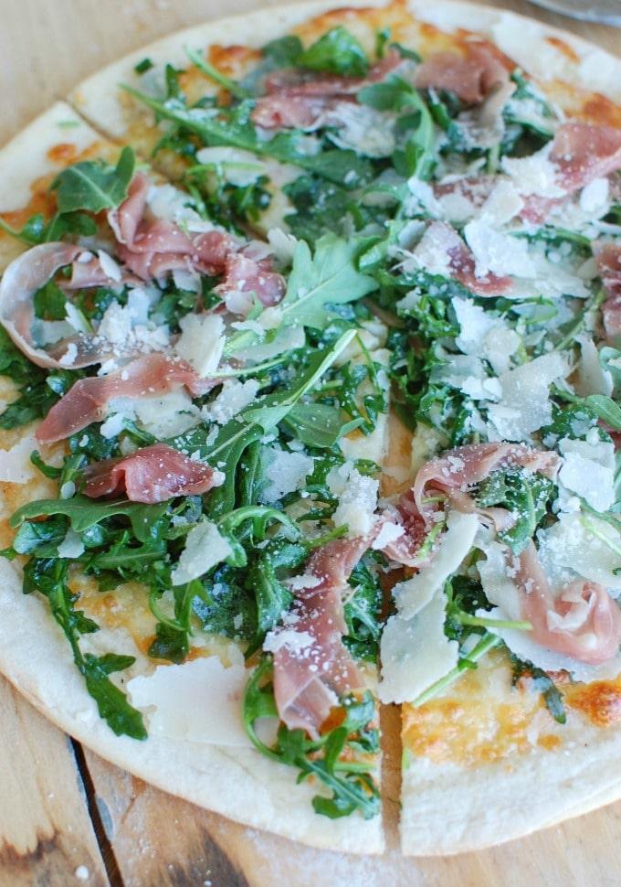3 Prosciutto Arugula Pizza