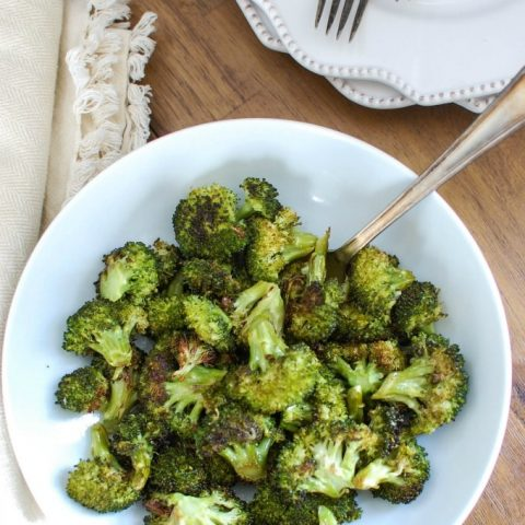 Simple Roasted Broccoli - healthy
