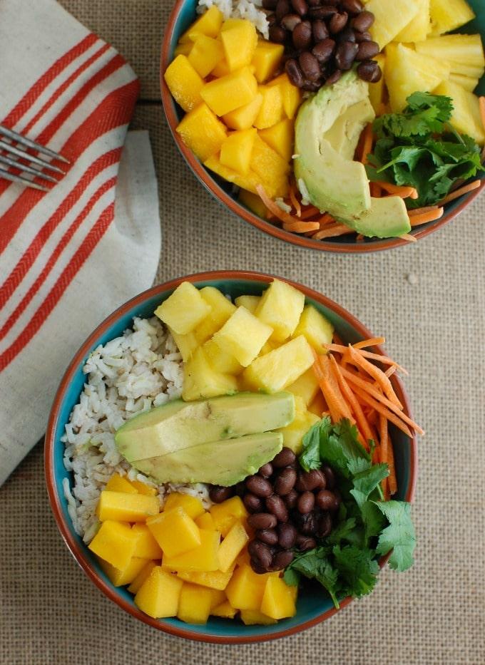 Tropical Coconut Rice Bowl - so good