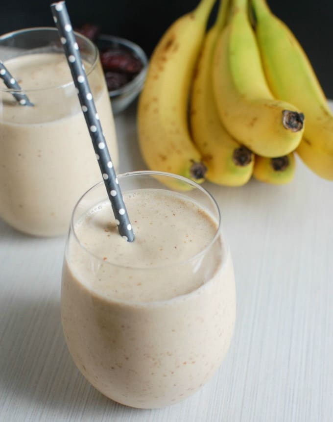 Peanut Butter Banana Smoothie - afternoon snack