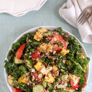 Tropical Kale Quinoa Salad