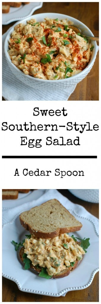 Sweet Southern-Style Egg Salad - so good!