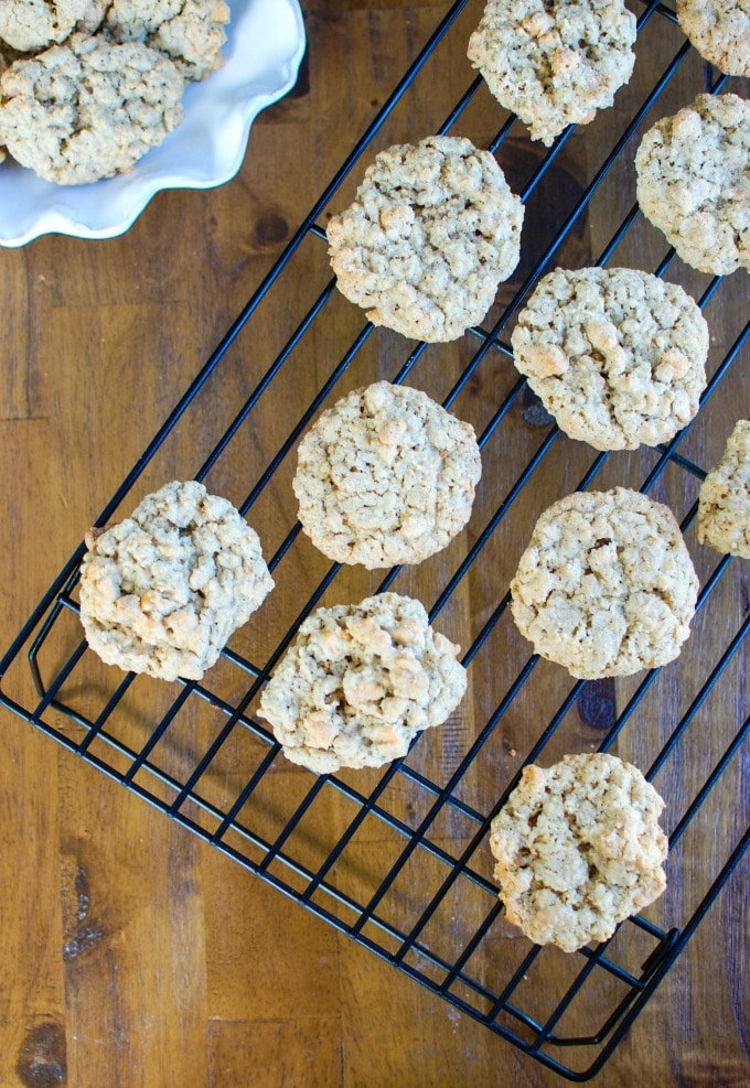 Oatmeal Scotchies - cookies