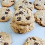Sea Salt Chocolate Chip Cookies - the best cookies