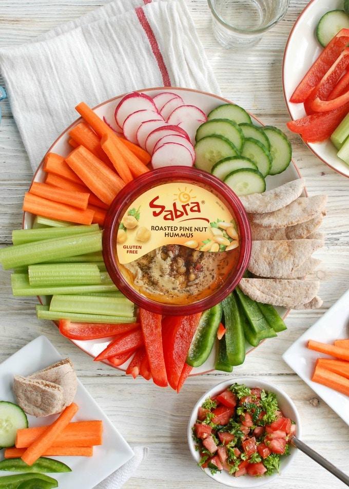 Lebanese Style Hummus - dip