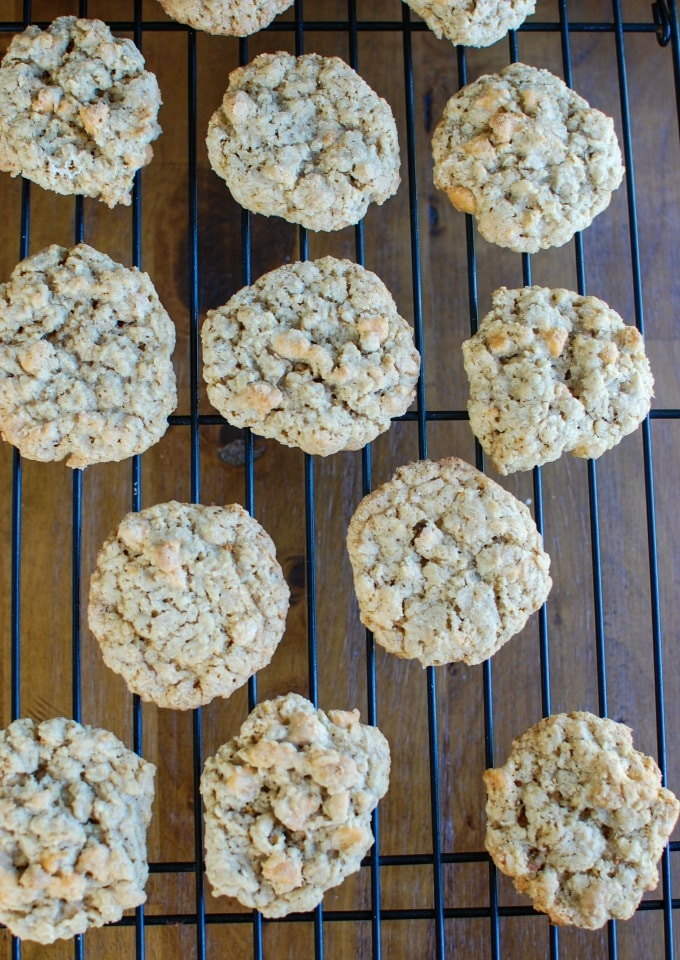 Oatmeal Scotchies - sweet tooth