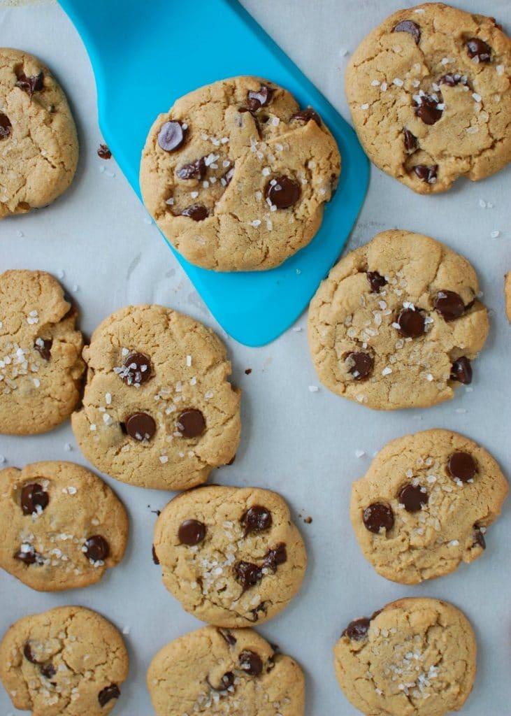 Sea Salt Chocolate Chip Cookies - my favorite cookies