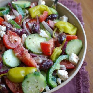Village Greek Salad - lunch