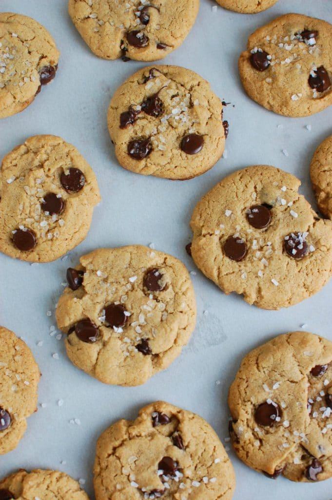 Sea Salt Chocolate Chip Cookies - sweet and salty