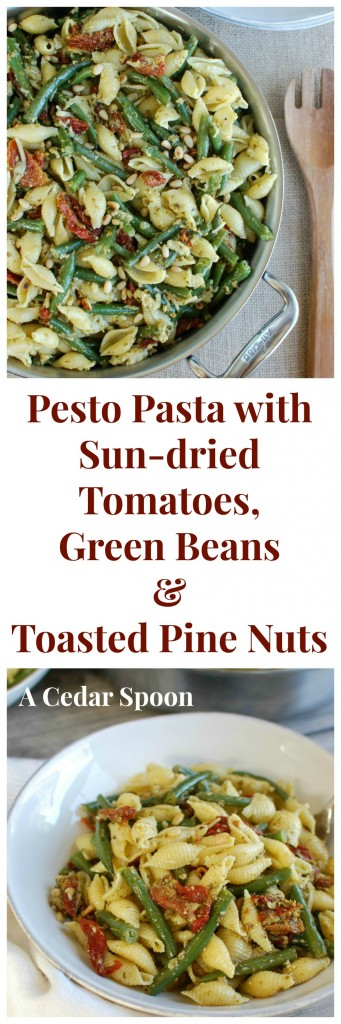 with Green Beans, Sun-dried Tomatoes and Toasted Pine Nuts - the best