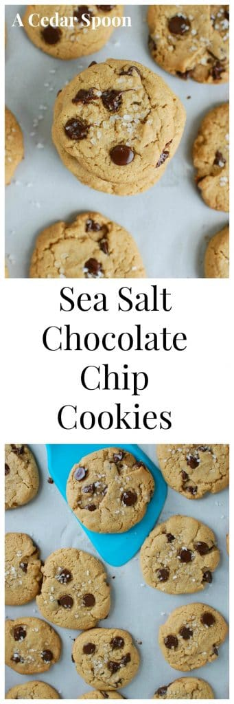 Sea Salt Chocolate Chip Cookies - the best
