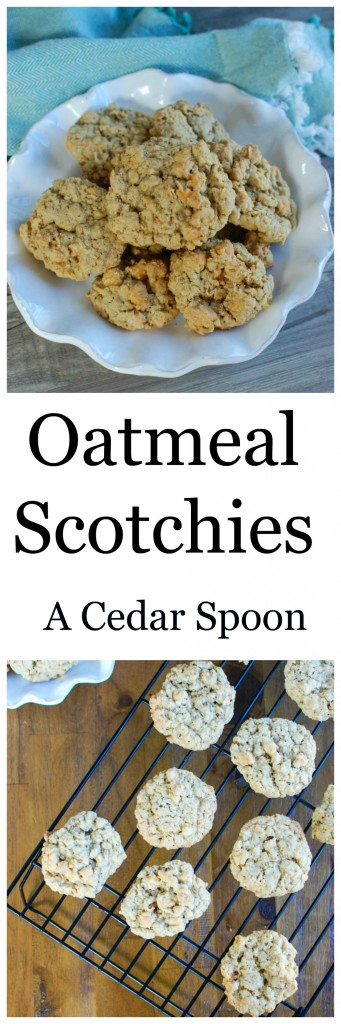 Oatmeal Scotchies- the best treat