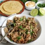 The Best Slow Cooker Pork Carnitas - dinner