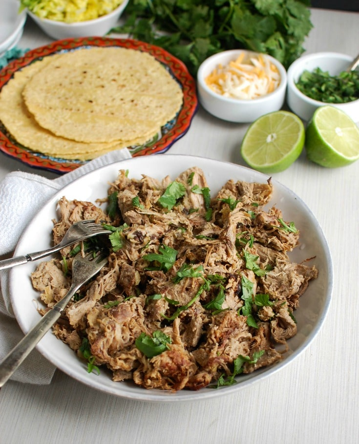Spice up your taco night with The Best Slow Cooker Pork Carnitas. Pork ...