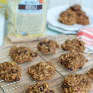 Banana Muesli Breakfast Cookies - a treat