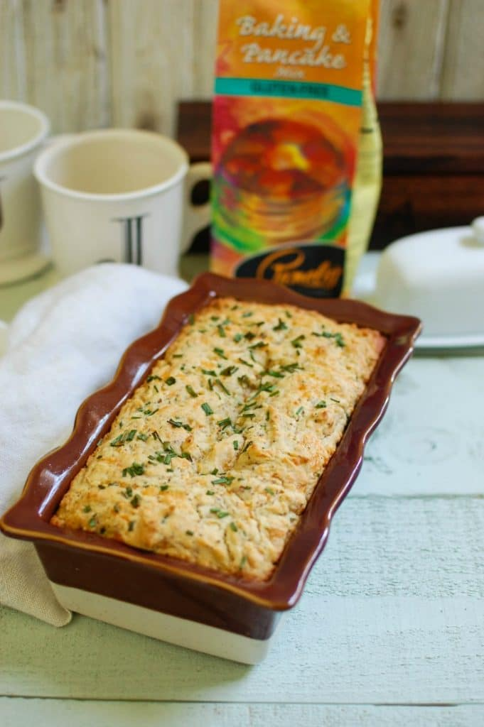Easy Quick Bread Two Ways- Strawberry Banana and Cheddar Chive - fast and easy