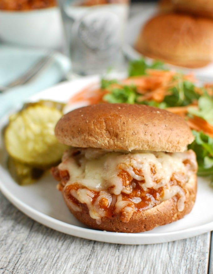 Turkey Sloppy Joes are a healthier, lightened up version. Kid friendly too!