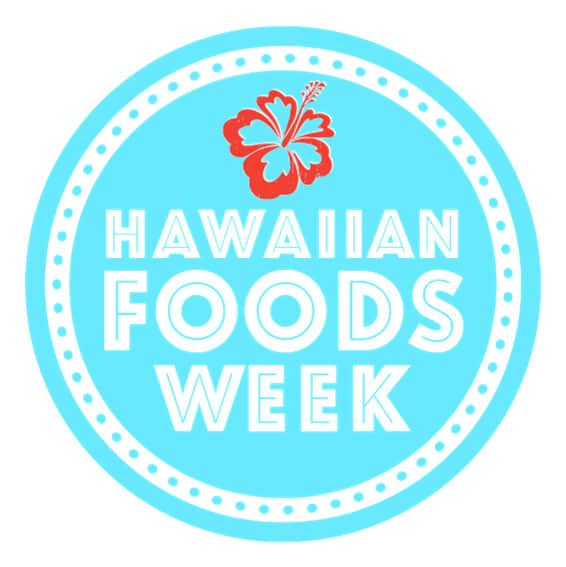 Hawaiian Foods Week is celebrating Hawaiian foods and culture. Fresh flavors make this recipe a hit!