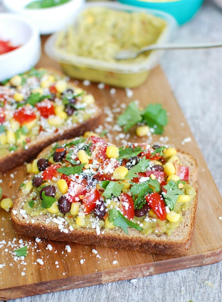 Southwestern Avocado Toast is my favorite way to wake up! So easy to make!
