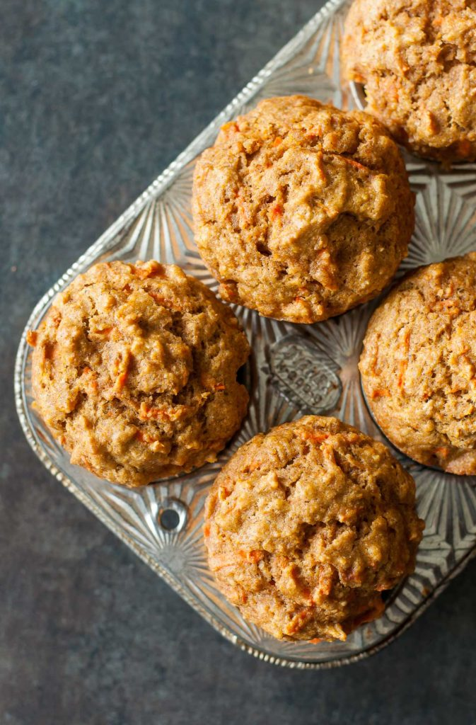 Butternut Carrot Whole Grain Muffins are so tasty! The perfect snack!