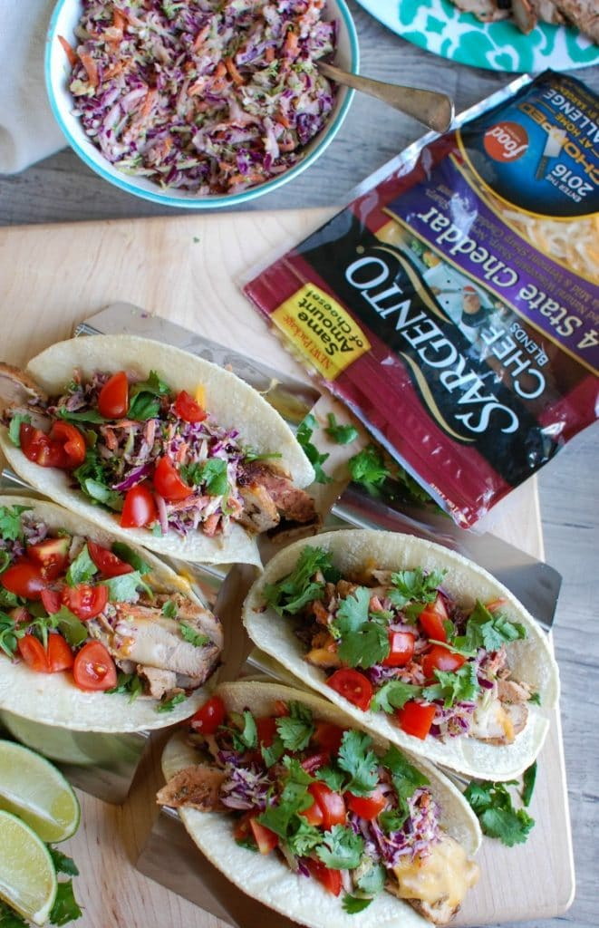 Asian Pork Tacos with Spicy Slaw are tender, flavorful tacos. These ...