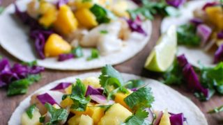 Grilled Fish Tacos with Tropical Salsa