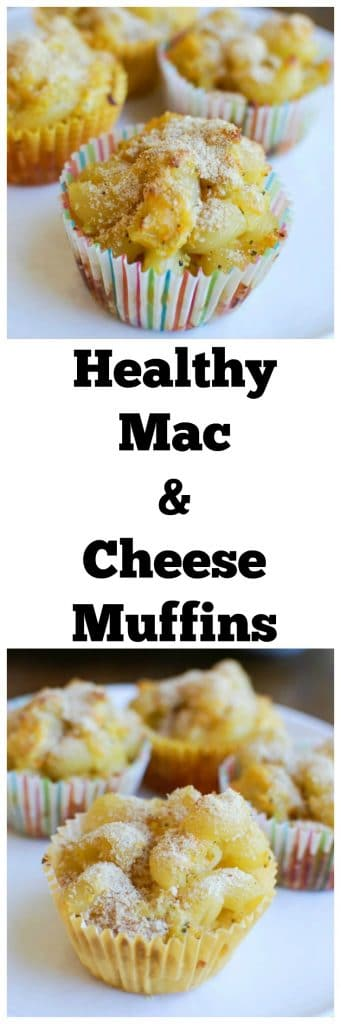 These Healthy Mac and Cheese Muffins are a fun, lunchbox friendly, spin on a kid-favorite. Since they're fun to eat and packed with flavor, kids won't even know they're filled with veggies!