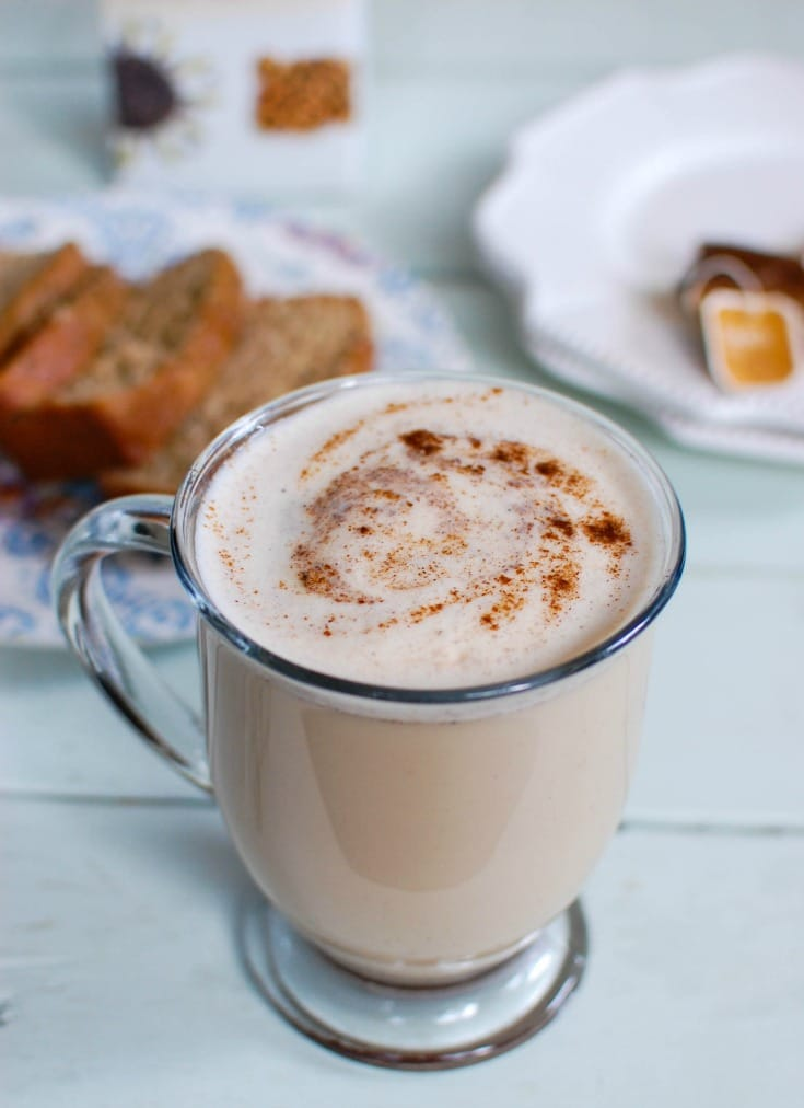 how to make homemade chai tea latte