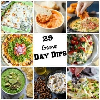 29 Game Day Dips